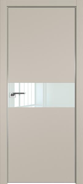 Дверь профиль дорс 4Е Шеллгрей - со стеклом