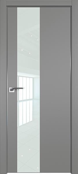 Дверь профиль дорс 5Е Грей - со стеклом