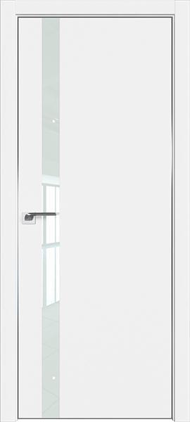 Дверь профиль дорс 6Е Аляска - со стеклом