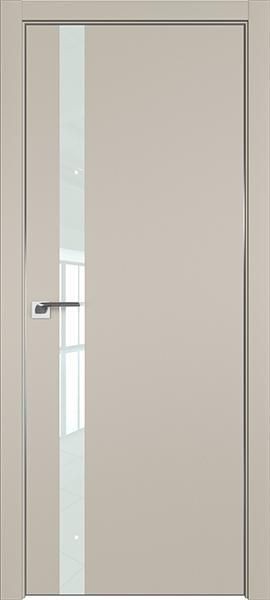 Дверь профиль дорс 6Е Шеллгрей - со стеклом