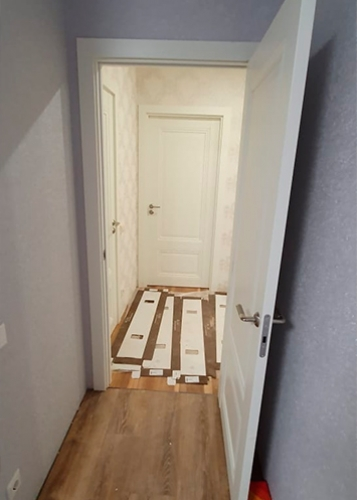 profil doors 2.102u дарк вайт в интерьере