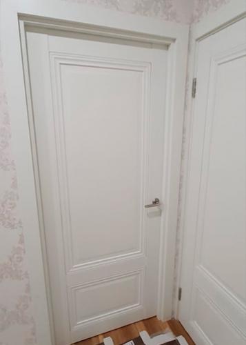 дверь 2.102u дарк вайт в квартире