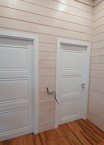 3u profil doors аляска в интерьере