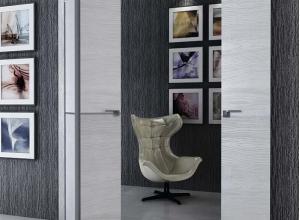 дверь профиль дорс 2stk pine white glossy  в интерьере