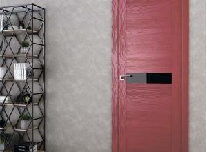 дверь профиль дорс 4stk pine red glossy в интерьере