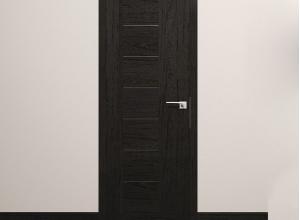 дверь профиль дорс 2.10xn дарк браун в интерьере