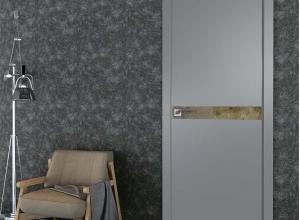 дверь профиль дорс 46smk кварц матовый в интерьере