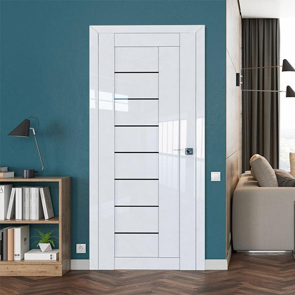 Профиль дорс Белый люкс - серия царговых дверей