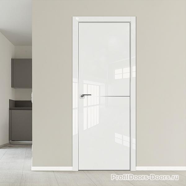 Профиль дорс Белый люкс - каркасные двери