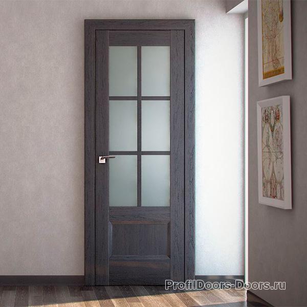 Профиль дорс Грувд серый - царговые двери