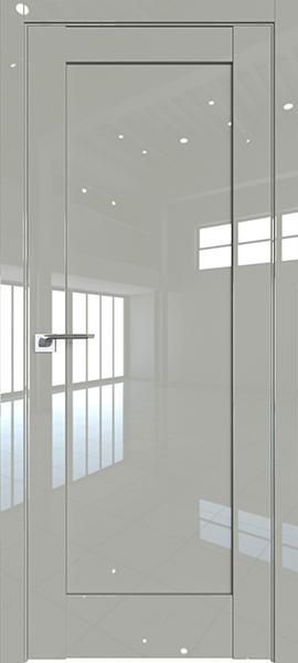 Дверь Профиль дорс 100L Галька люкс - глухая