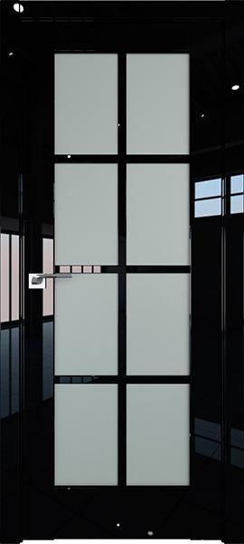 Дверь Профиль дорс 101L Черный люкс - со стеклом