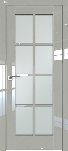 Дверь Профиль дорс 101L Галька люкс - со стеклом
