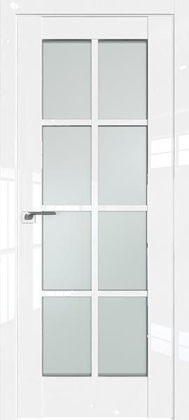 Дверь Профиль дорс 101L Белый люкс - со стеклом