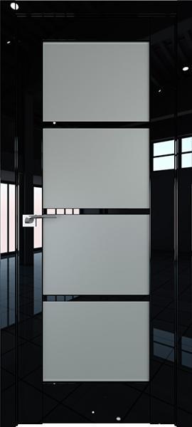 Дверь Профиль дорс 119L Черный люкс - со стеклом