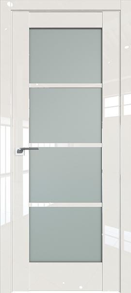 Дверь Профиль дорс 119L Магнолия люкс - со стеклом