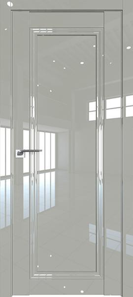 Дверь Профиль дорс 2.100L Галька люкс - глухая