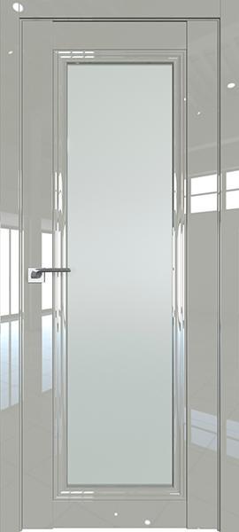 Дверь Профиль дорс 2.101L Галька люкс - со стеклом