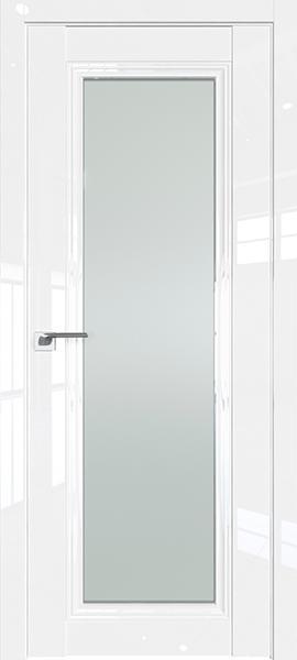 Дверь Профиль дорс 2.101L Белый люкс - со стеклом