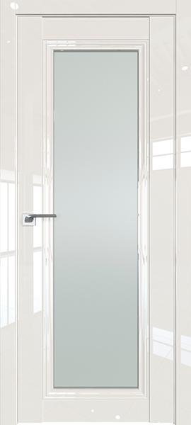 Дверь Профиль дорс 2.101L Магнолия люкс - со стеклом