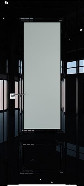 Дверь Профиль дорс 2.103L Черный люкс - со стеклом