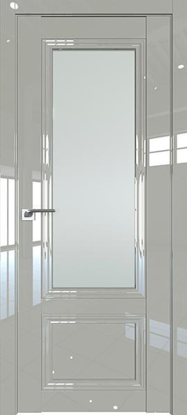 Дверь Профиль дорс 2.103L Галька люкс - со стеклом