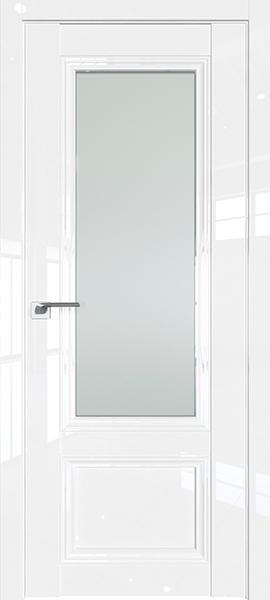 Дверь Профиль дорс 2.103L Белый люкс - со стеклом