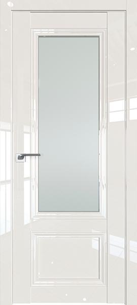 Дверь Профиль дорс 2.103L Магнолия люкс - со стеклом