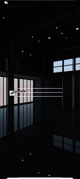 Дверь Профиль дорс 150L Черный люкс - глухая