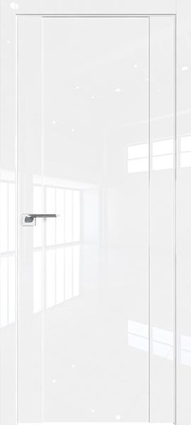 Дверь Профиль дорс 20L Белый люкс - глухая