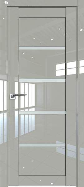 Дверь Профиль дорс 2.09L Галька люкс - со стеклом