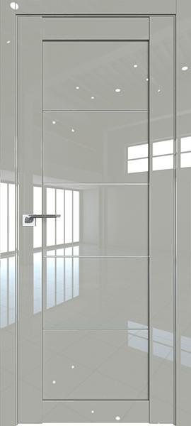 Дверь Профиль дорс 2.11L Галька люкс - со стеклом