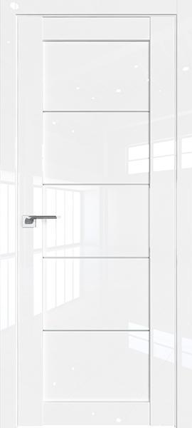 Дверь Профиль дорс 2.11L Белый люкс - со стеклом