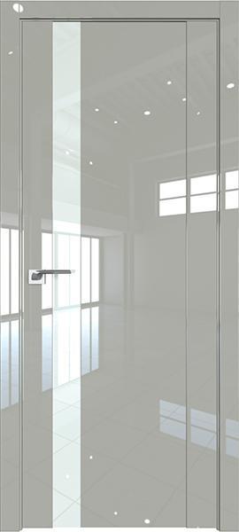 Дверь Профиль дорс 62L Галька люкс - со стеклом