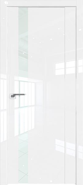 Дверь Профиль дорс 62L Белый люкс - со стеклом