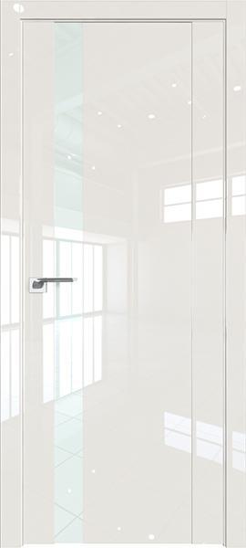 Дверь Профиль дорс 62L Магнолия люкс - со стеклом