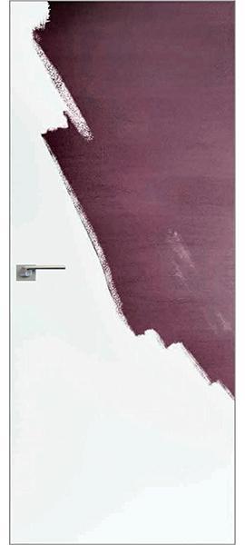 Invisible - грунтованная дверь наружного открывания