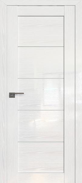 Дверь Профиль дорс 2.11STP Pine White glossy - со стеклом