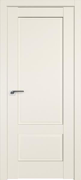 Дверь Профиль дорс 105U Магнолия сатинат - глухая