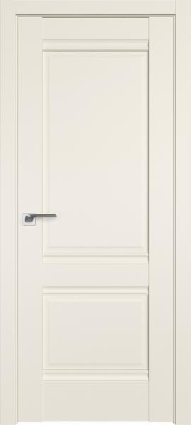 Дверь Профиль Дорс 1U Магнолия сатинат - глухая