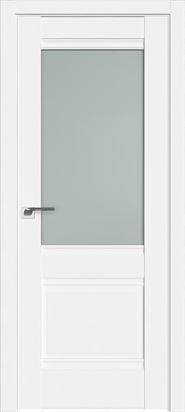 Дверь Профиль дорс 2U Аляска - со стеклом