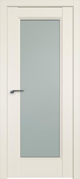 Дверь Профиль дорс 65U Магнолия сатинат - со стеклом