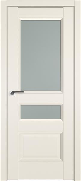 Дверь Профиль дорс 68U Магнолия сатинат - со стеклом