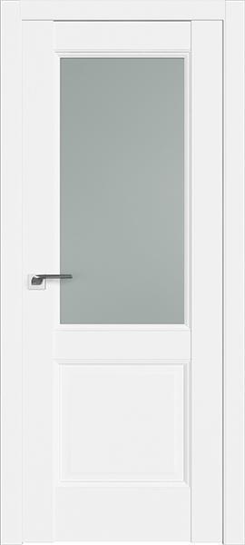 Дверь Профиль дорс 90U Аляска - со стеклом