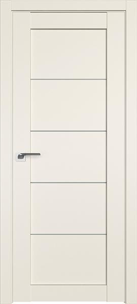 Дверь Профиль дорс 2.11U Магнолия сатинат - со стеклом