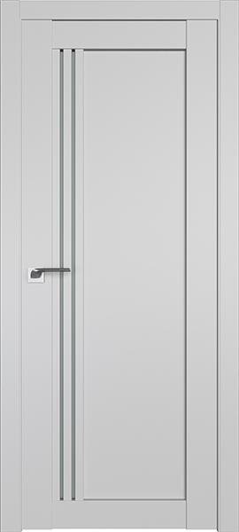 Дверь Профиль дорс 2.50U Манхэттен - со стеклом