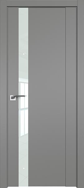 Дверь Профиль дорс 62U Грей - со стеклом Lacobel