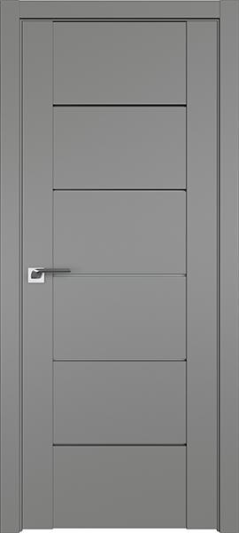 Дверь Профиль дорс 99U Грей - со стеклом