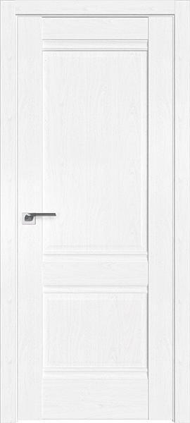 Дверь Профиль дорс 1X Пекан белый - глухая