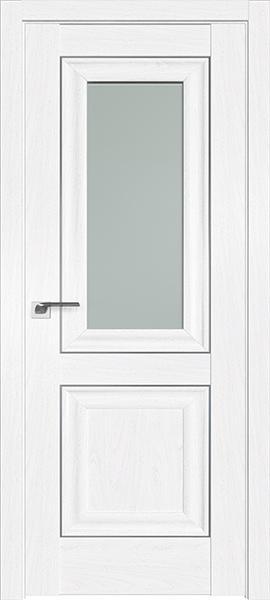 Дверь Профиль дорс 28X Пекан белый - со стеклом